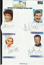 Cast of London Suite, Sue Holderness, John