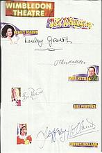 Cast of Dick Whittington Lesley Joseph, John