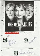 Cast of The Old Ladies, Sian Phillips, Angela