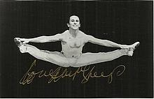 Wayne Sleep signed 6 x 4 ballet b/w photo fixed to