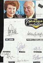 Cast of The Solid Gold Cadillac, Roy Hudd,