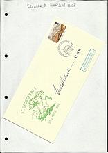 Edward Hardwick signed 1994 St Georges Day cover