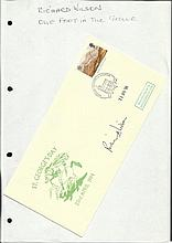 Richard Wilson signed 1994 St Georges Day cover