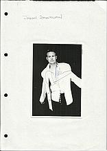 Jason Donovan signed 6 x 4 b/w portrait photo