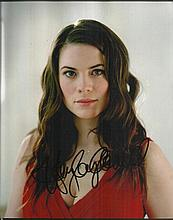Hayley Attwell signed 10 x 8 colour photo Good