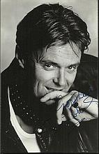 Simon Williams signed 6 x 4 b/w photo. Good