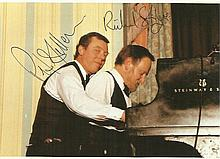 Peter Skellern & Richard Stilgoe signed colour