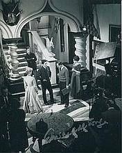 EDWARD De SOUZA: 8x10 inch photo signed by actor Edward De Souza. From 1961 to 1966, he starred in the sitcom Marriage Lines with Richard Briers and Prunella Scales. De Souza had roles in the Hammer films The Phantom of the Opera (1962) and The Kiss