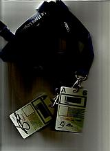 Stirling Moss and Susie Moss signed passes for Le Mans 2009, and signed 8 x 6 b/w photo with typed signed letter.  Good condition