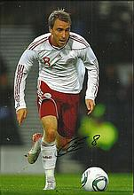 Christian Eriksen signed colour 12x8 photo. Good condition