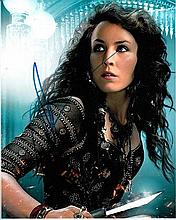 Noomi Rapace 8x10 colour photo of Noomi from Sherlock Holmes, signed by her in London, 2014 Good condition