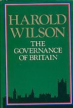 HAROLD WILSON: Hardback book
