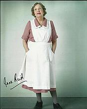 Anne Reid signed 10x8 colour photo from Upstairs Downstairs. Good condition