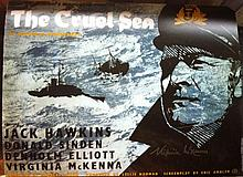 THE CRUEL SEA: 16x20 photo signed by actress Virginia McKenna who starred in this classic British war movie. Good condition