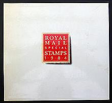 1984 GB Stamps Year Book in pristine condition in original Royal Mail packaging.