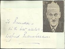 Wilfred Brambell signature piece