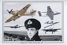 Britain's Greatest Pilot - 8x12 Inch Photo Montage