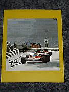 Jody Scheckter F1 Legend 7x7 Magazine Photo