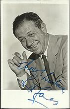 Sid James signed 6x4 b/w photo.