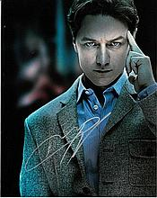 James McAvoy 8x10 colour photo of James from