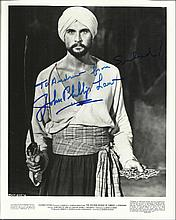 John Phillip Law signed 10x8 b/w photo. Seen here