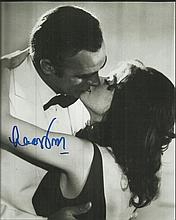Lana Wood signed 10 x 8 b/w James Bond photo