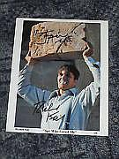 Richard Kiel James Bond Jaws 10x8 Photo Signed.