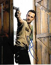Andrew Lincoln 8x10 colour photo of Andrew from