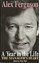 Alex Ferguson signed bookplate on inside front