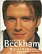 David Beckham signed bookplate on inside front