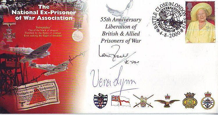 Multisigned Prisoner of War National Ex-Prisoner