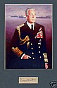Lord Mountbatten Of Burma Signed Piece and photo