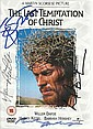 Multi signed DVD The Last Temptation of Christ,