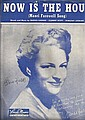 Gracie Fields signed score for
