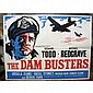 Dambusters Movie Poster original poster, folded