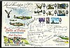 25th Anniv Battle of Britain 1965 FDC Signed 24