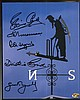 Rare Cricket multi-signed Lords Weather Vane 8x10
