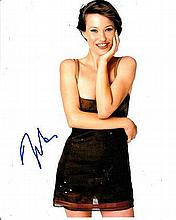 Joey Lauren Adams 8x10 colour photo of Joey star of Chasing Amy, signed by her at Sundance Film Fest