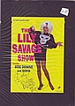 Bob Downe aka Mark Trevorrow signed Lilly Savage show colour promo leaflet mounted to 12 x 8 black card, to Andy