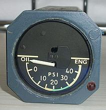 The Concorde Oil Pressure Gauge from Mike Bannister Collection