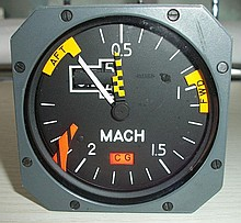 Concorde Machmeter - withdrawn from sale