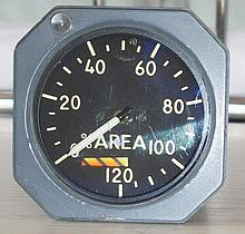 The Concorde Rolls Royce Area Gauge from Mike Bannister Collection