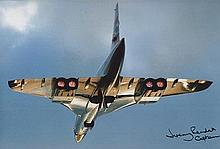 Jeremy Rendall signed 12 x 8 colour Concorde