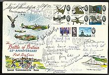 24 Battle of Britain pilots 25th Anniv Battle of