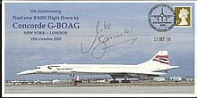 Mike Banister signed 2008 Concorde 5th Ann FDC from Mike Bannister Collection