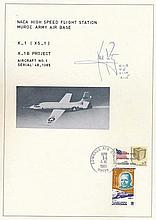 Armstrong, Neil X-1 document. 8x10 commemorative