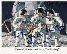 Apollo 12 fully signed 10X8 Photograph. A photo of
