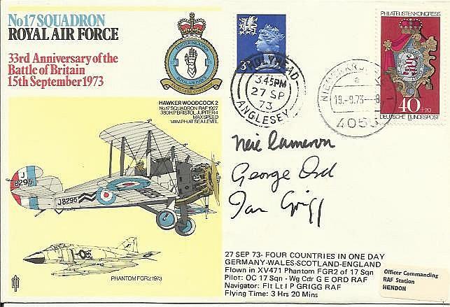 A.V.M. Cameron DSO DFC (1920 - 1985) BOB pilot,