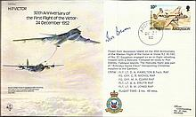 Ivor Broom signed RAF B43 30th anniversary of the