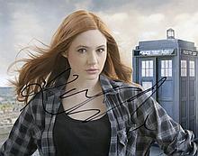 Karen Gillan Signed 8x10 as Amy Bond in Doctor